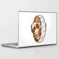 Laptop & iPad Skin featuring Puglie Maki by Puglie