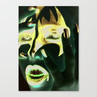 Kiss Gene Canvas Print