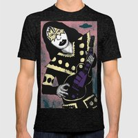 Poster The Great Ace Frehley Mens Fitted Tee Tri-Black SMALL
