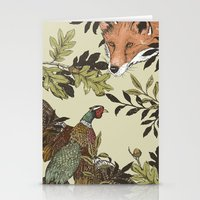 Fox & Pheasant Stationery Cards