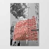 Graffiti on Abercrombie 02 Canvas Print