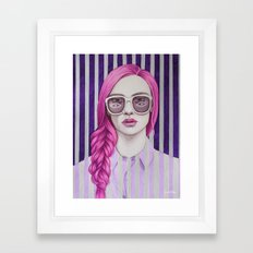 Close Up 11 Framed Art Print