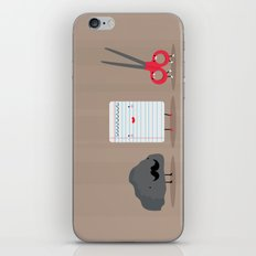 Rock paper scissors iPhone & iPod Skin