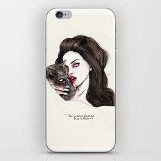 "Lana ""The saddest,baddest diva in Rock"" iPhone & iPod Skin"