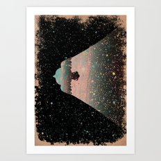 Star Bird Art Print