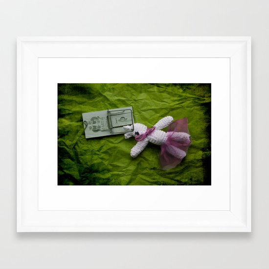 Did not mean to hurt you.... Framed Art Print
