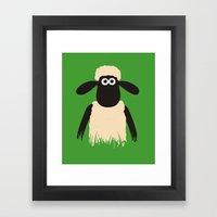 Shaun Framed Art Print