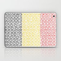 Digital Flag (Belgium) Laptop & iPad Skin