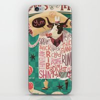 'Cows are REALLY Meaty!' iPhone & iPod Skin