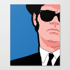 Pop icons - Tribute Elwood Canvas Print
