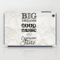 BIg DREAMS iPad Case