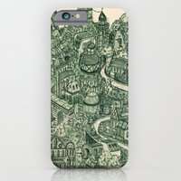 iPhone & iPod Case featuring Two Cannels by andres lozano