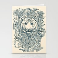 Tiger Tangle Stationery Cards