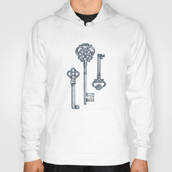 Three Skeleton Keys Hoody