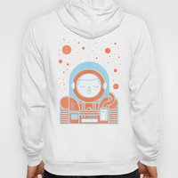 Orange Space Hoody