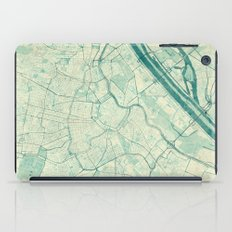 Vienna Map Blue Vintage iPad Case