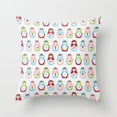 Matryoshka Doll 1 Throw Pillow