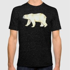 Polar Bear  Mens Fitted Tee Tri-Black SMALL