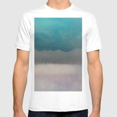 Eternity Mens Fitted Tee White SMALL
