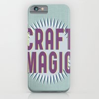 iPhone & iPod Case featuring Craft Magic // Berry by Magpie Paper Works