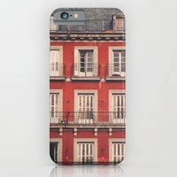 iPhone & iPod Case featuring Plaza Mayor by Delphine Comte