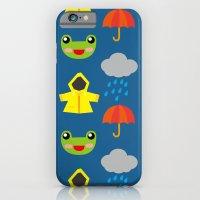 rainy days (Children's pattern) iPhone 6 Slim Case