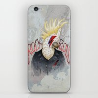 ROCK & ROLL BIRD!! iPhone & iPod Skin