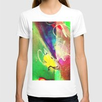 graffiti T-shirts featuring Graffiti  by Shannon Curtis