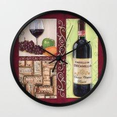 Chianti And Friends 2 Wall Clock