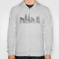 NYC Landmarks By The Dow… Hoody