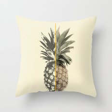 Double Pineapple Throw Pillow