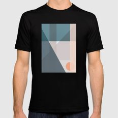 Geo Comp IV Mens Fitted Tee Black SMALL