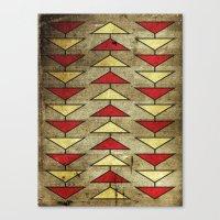 Navajo Arrows Canvas Print