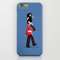 iPhone & iPod Case featuring Guess who's   by Inksider