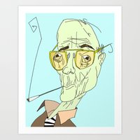 Buy The Ticket. Take The… Art Print
