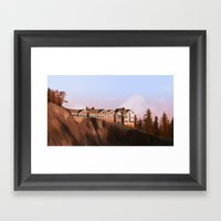 The Great Northern hotel Framed Art Print