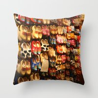 Knock On Wood...With You… Throw Pillow