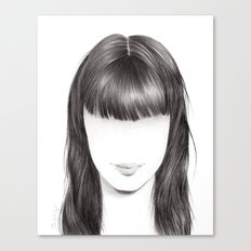 Tanya's Hair Canvas Print