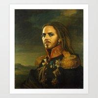 Tim Minchin - Replacefac… Art Print