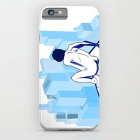 iPhone & iPod Case featuring Me against the city by Villaraco