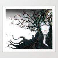 Kyrie Liaisons Art Print