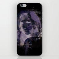 Watercolour Girl iPhone & iPod Skin