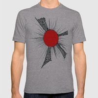 Peace For All Mens Fitted Tee Athletic Grey SMALL