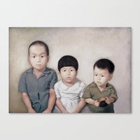 Brothers And Sisters Canvas Print