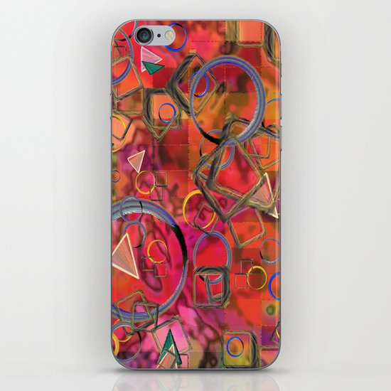 Rings and Things iPhone & iPod Skin