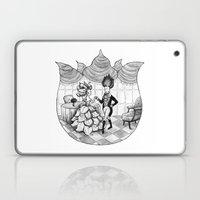 Floral Society Greeting Laptop & iPad Skin