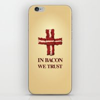Baconicism Promo iPhone & iPod Skin