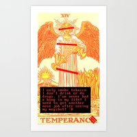 Temperance Bynes Art Print