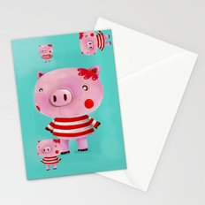 Piglet Stationery Cards