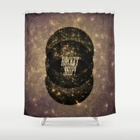 Rocket Ship! Shower Curtain